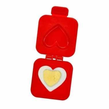 Ei vormer hartje 7 cm valentijn gadget kado