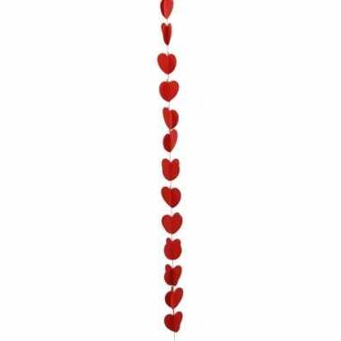Hartjes slinger rood 190 cm kado
