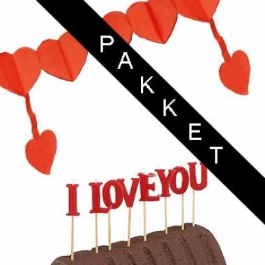 I love you emotie pakket kado