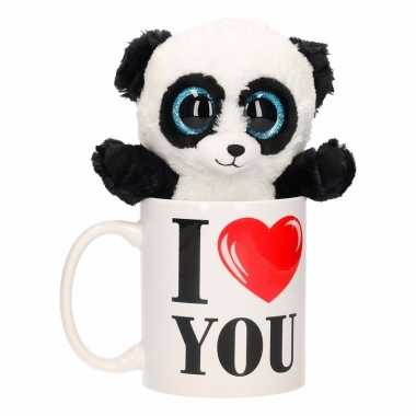 I love you mok met panda kado