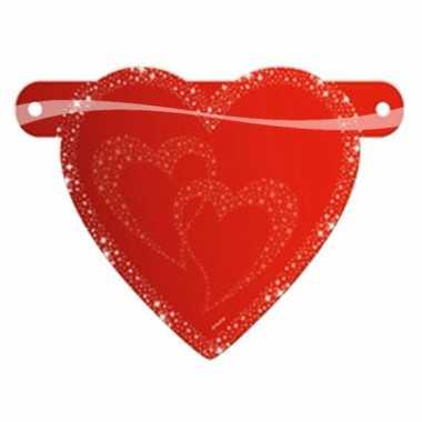 Valentijn banner teken hartje kado