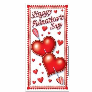 Valentijn deurposter 76 x 152 cm kado