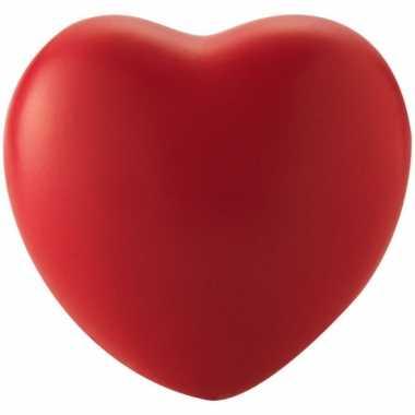 Valentijn hartvormig stressballetje rood kado