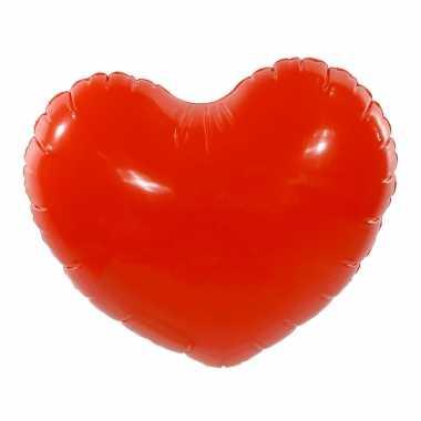 Valentijn opblaasbaar hart 45 cm kado