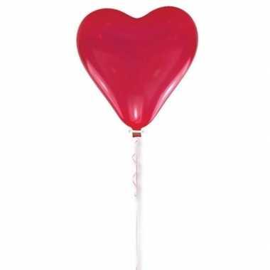 Valentijn rode hart ballon 70 cm kado