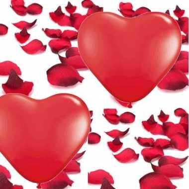 Valentijn versiering pakket kado