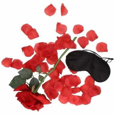 Valentijnskado verassingspakket zwart masker